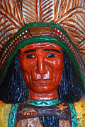 Wingsdomain Art and Photography - Wooden Indian Statue . 7D13538