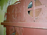 Green - WW II Bunker Door Detail by Lynn-Marie Gildersleeve