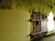 Green - WW II Bunker Door by Lynn-Marie Gildersleeve