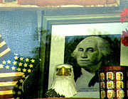 Declaration Of Independence Photo Prints - WWGD - what would George do Print by Joe JAKE Pratt