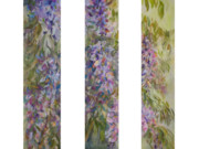 B Rossitto - Wysteria Three Panel