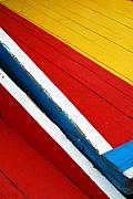Skip Hunt - Xochimilco Boat Abstract 1