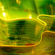 Yellow And Green Fine Art Print by Artist and Photographer Laura Wrede
