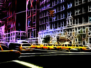 Stefan Kuhn - Yellow Cabs in New York