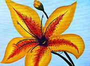 Barbara Griffin - Yellow Oriental Lily