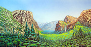 Yosemite Print by David Linton