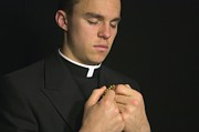 Gregory Dean - Young Priest praying...