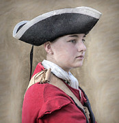 Randy Steele - Youthful Colonial British Soldier...