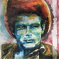 Chrisann Ellis -  James Dean Painting