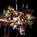 Levin Rodriguez - Banquet with oysters and...