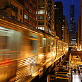 Michael Paskvan - Chicago Elevated train