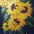 Eloise Schneider - Dancing Sunflowers