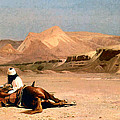In The Desert by Jean-Leon Gerome