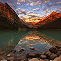 Ross Murphy - Lake Louise Sunrise