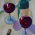 Todd Bandy - Wine Bottle Still Life