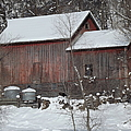 Duane Klipping - Winter Barn