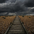 Jaroslaw Blaminsky - Wooden path in the...