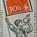 Bill Owen - 1957 Czechoslovakia Stamp