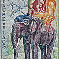 Bill Owen - 1958 Laos Elephant Stamp