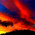 Bruce Nutting - Stained Glass Sunset