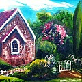 Therese Alcorn - A Country Church -...