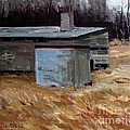 Abandoned Ice House Circa Late 1800.s by Charlie Spear