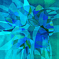 Ann Powell - abstract - art- Blue for...