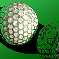 Ann Powell - Abstract  Golf Balls in...