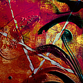Laura L Leatherwood - Abstract Red Swirl