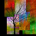 Ann Powell - abstract- trees - Color...
