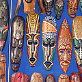 Eva Kaufman - African Tribal Masks in...