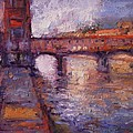 R W Goetting - Afternoon on the Arno