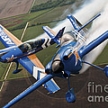 Airplanes Perform At The Sound Of Speed by Stocktrek Images