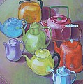 Catherine Rose Chiara - All My Teapots