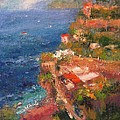 R W Goetting - Amalfi coast