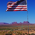 Dany  Lison - American Flag in...