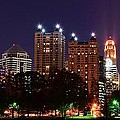 Frozen in Time Fine Art Photography - Atlanta Panoramic From...