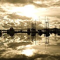 Cathy Mahnke - Auke Bay in Sepia