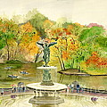 Melly Terpening - Autumn at Central Park NY