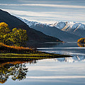 David Bowman - Autumn on Loch Leven