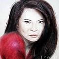Jim Fitzpatrick - Beautiful Lucy Liu