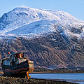 Jacqi Elmslie - Ben Nevis and Old Boat