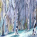 Brenda Owen - Birches In The Forest