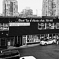 black top and checker cabs office Vancouver BC Canada by Joe Fox
