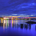 Joann Vitali - Blue Hour Over Boston...