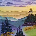 Lee Bowman - Blue Ridge Beauty At Dusk