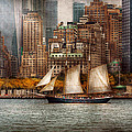 Mike Savad - Boat - Governors Island...