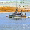 Annie Zeno - Boat In Cape Cod Bay