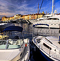 Boats At St.tropez by Elena Elisseeva