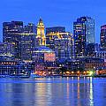 Joann Vitali - Boston Skyline Panoramic...
